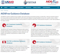 AIDSFree Guidance Database